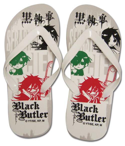 Black Butler Ciel Sebastian, and Grell Sandals