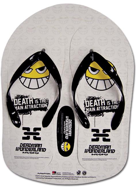 Deadman Wonderland - White Smile Face with Chains Sandals