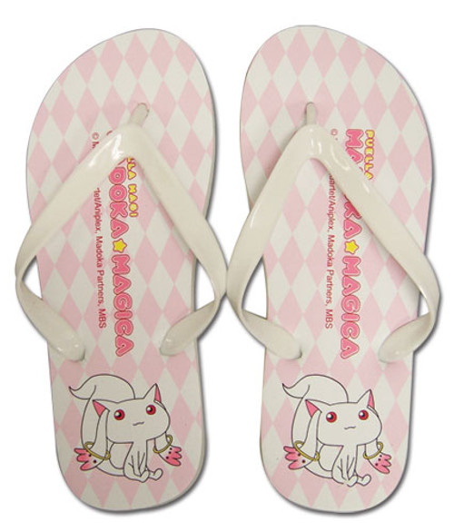 Madoka Magica Kyubey Sandals