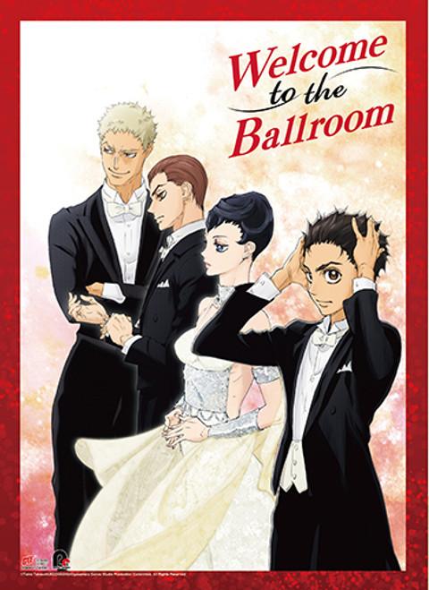 Welcome To The Ballroom Tatara, Hanaoka, Sengoku, and Kiyoharu Wall Scroll
