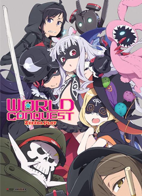 World Conquest Zvezda Plot Group Wall Scroll