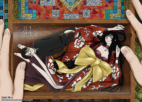 XxxHolic Movie Yuko, and Watanuki In A Box Wall Scroll