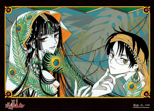 XxxHolic Yuko, and Watanuki Dressed up Wall Scroll
