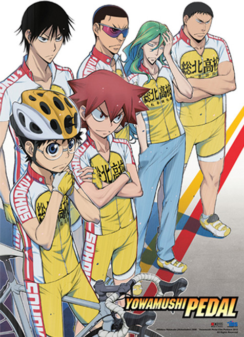 Yowamushi Pedal Go!! Group Wall Scroll