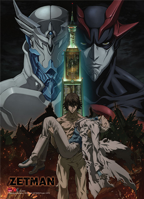 Zetman Jin, and Kouga Wall Scroll