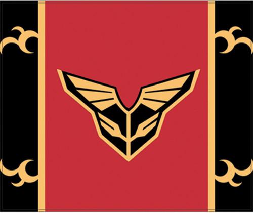Gundam Unicorn Sinanju Symbol Throw Blanket