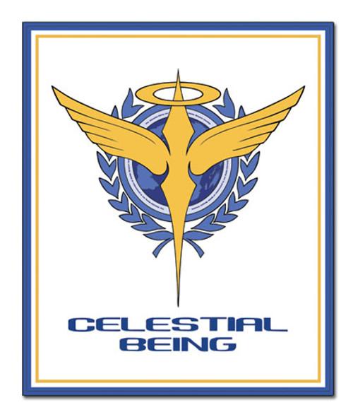 Gundam 00 Celestial Being Symbol Throw Blanket