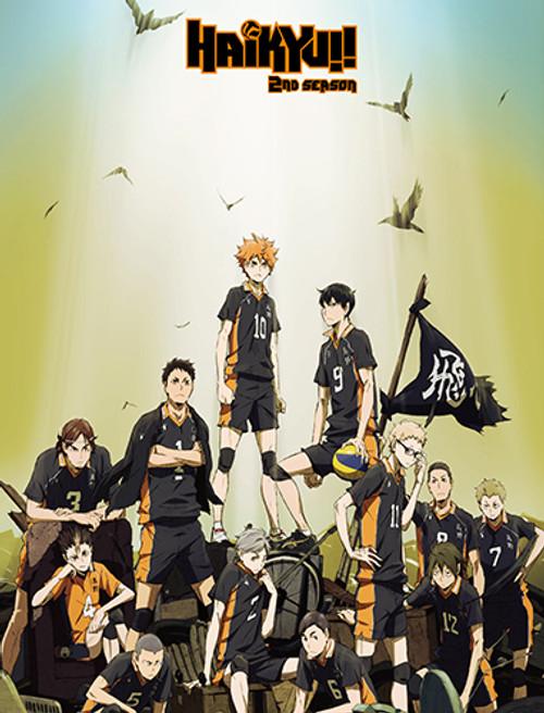 Haikyuu!! Karasuno High Team Throw Blanket
