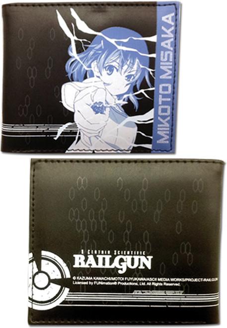 A Certain Scientific Railgun Black and Blue Mikoto Wallet