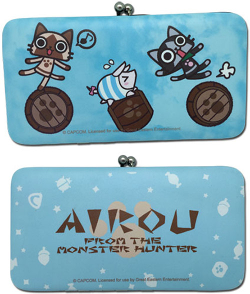 Airou From The Monster Hunter Snap Wallet