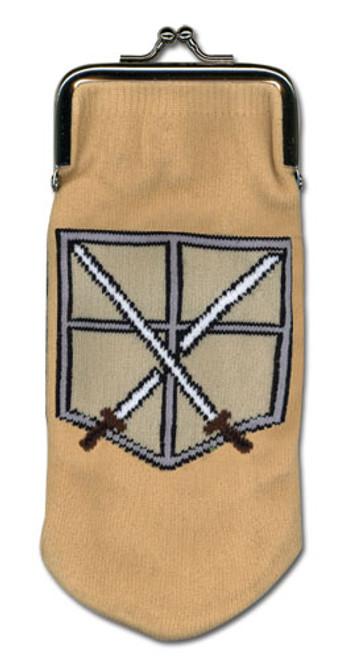Attack on Titan - Cadet Corp Symbol Sock Coin Purse