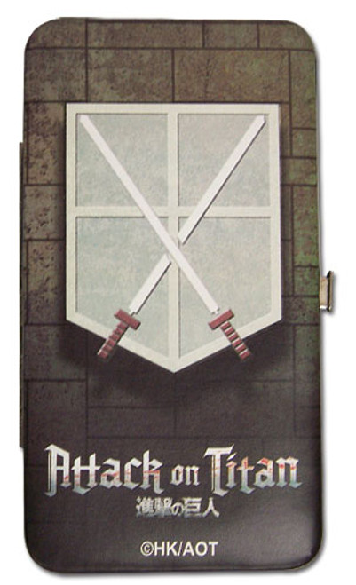 Attack on Titan - Cadet Corp Symbol Hinge Wallet