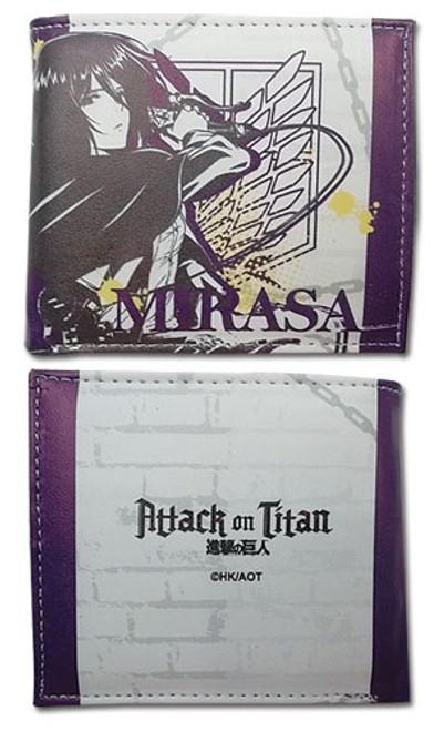 Attack on Titan - Mikasa Purple Bi-fold Wallet