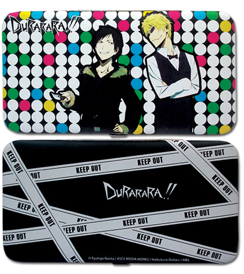 Durarara!! Izaya, and Shizuo Polka Dot Hinge Wallet
