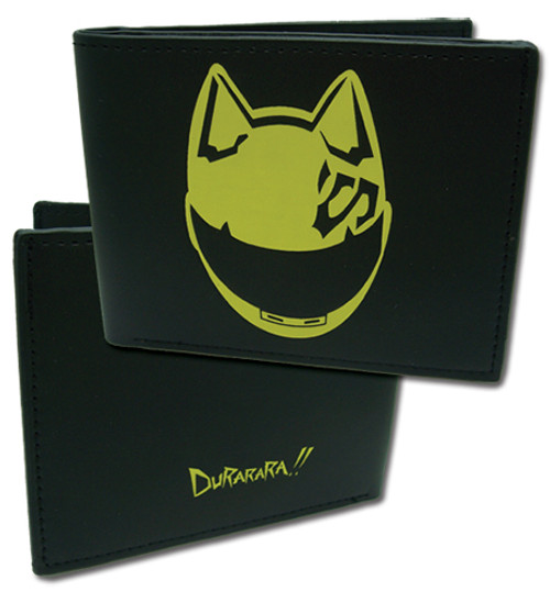 Durarara!! Celty Black Bi-fold Wallet