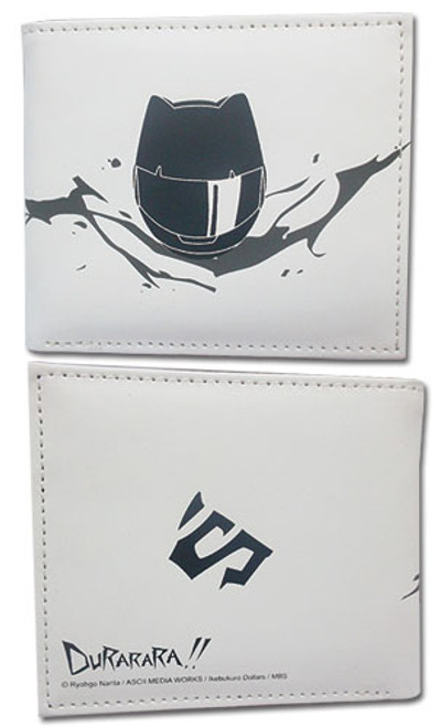 Durarara!! Celty White Bi-fold Wallet