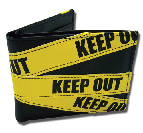Durarara!! Keep Out Tape Bi-fold Wallet