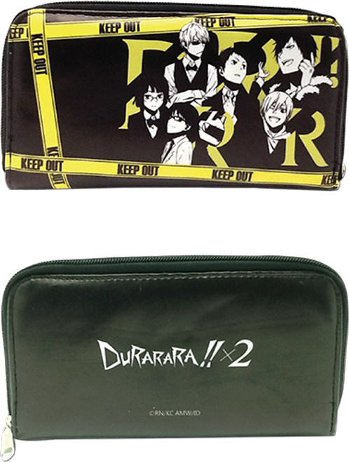 Durarara!! Group Zipper Wallet