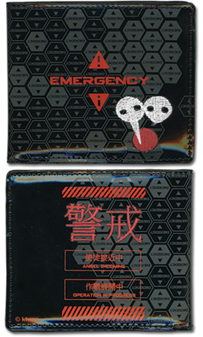 Evangelion Emergency Bi-fold Wallet
