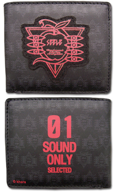 Evangelion Sound Only Bi-fold Wallet