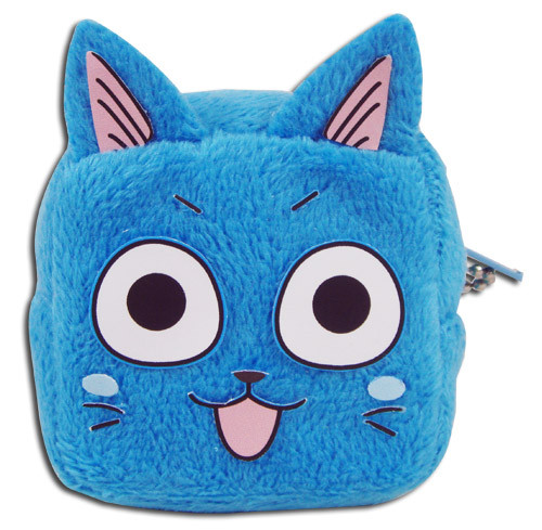 Fairy Tail Happy's Face Coin Purse