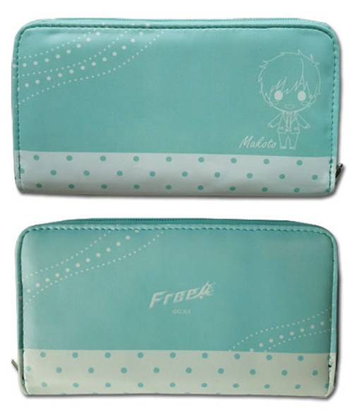 Free! Chibi Makoto Zipper Wallet