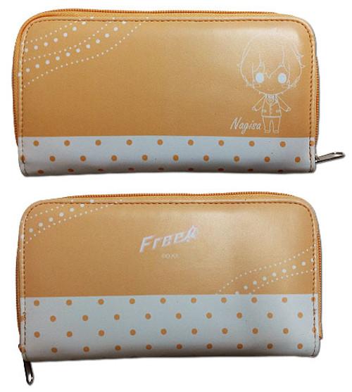 Free! Chibi Nagisa Zipper Wallet