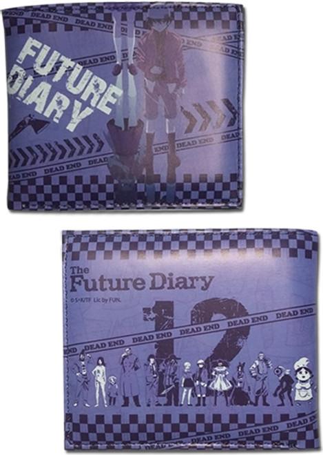 Future Diary Diary Holders Bi-fold Wallet