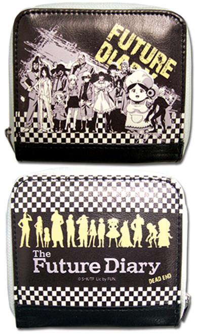 Future Diary Diary Holders Zipper Coin Purse