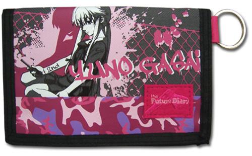 Future Diary Yuno Velcro Wallet