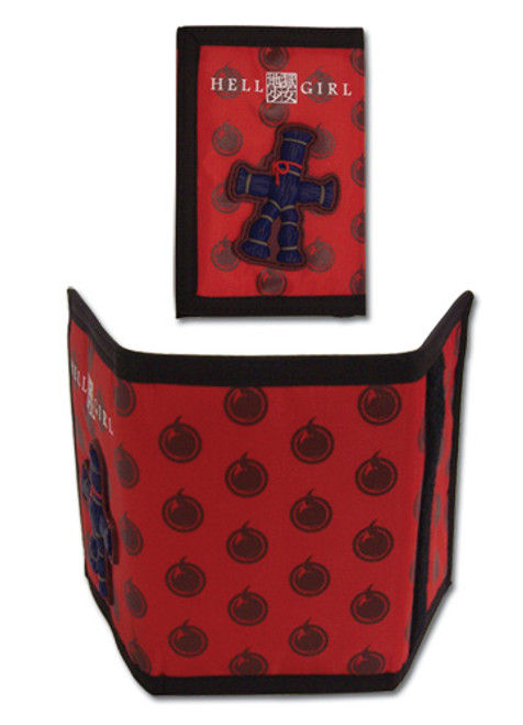Hell Straw Doll Velcro Wallet