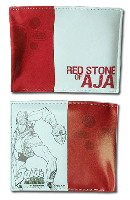 JoJo Red Stone of Aja Bi-fold Wallet