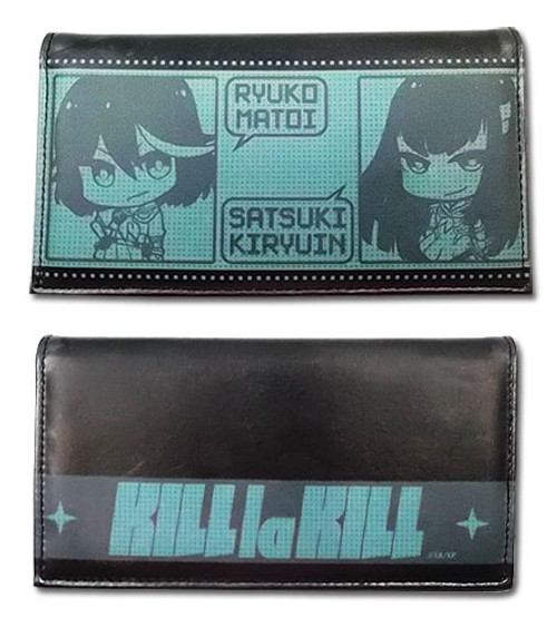 Kill La Kill Chibi Ryuko, and Satsuki Snap Wallet