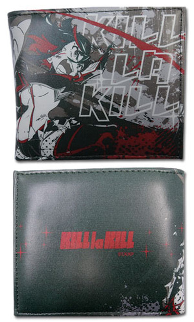 Kill La Kill Black Ryuko Bi-fold Wallet