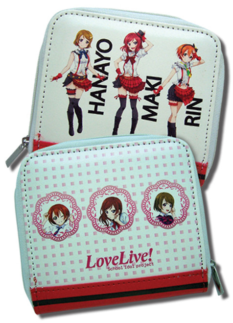 Love live Hanayo, Maki, and Rin Coin Purse