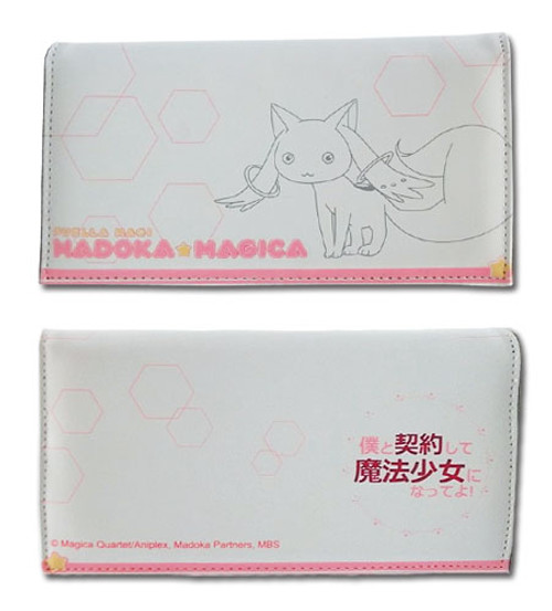 Madoka Magica Kyubey Snap Wallet
