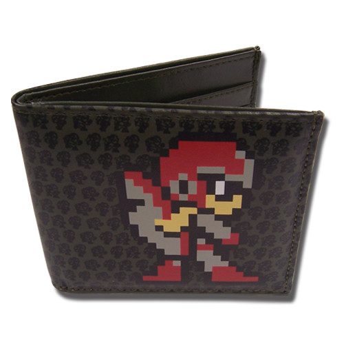 Mega Man Pixel Style Bi-fold Wallet