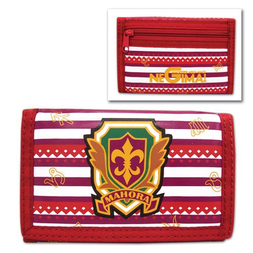 Negima! Mahora Academy Logo Velcro Wallet