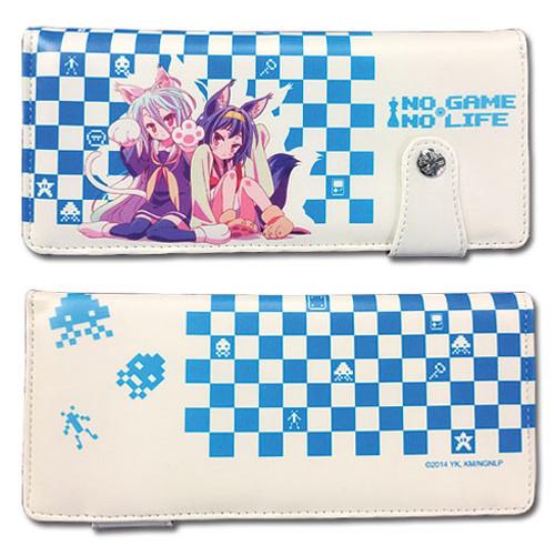 No Game No Life Shiro, and Hatsuse Snap Wallet