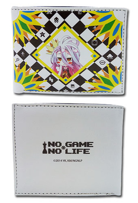 No Game No Life Shiro Bi-fold Wallet