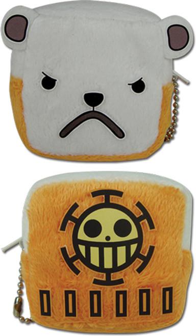 One Piece Bepo's Face Coin Purse