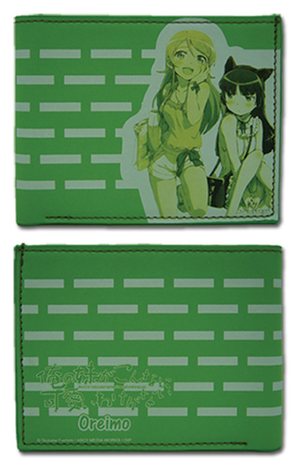 Oreimo Kirino, and Ruri Bi-fold Wallet