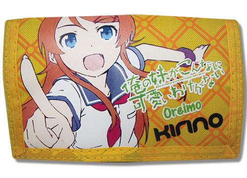 Oreimo Kirino Tri-fold Velcro Wallet