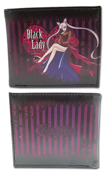 Sailor Moon Black Lady Bi-fold Wallet