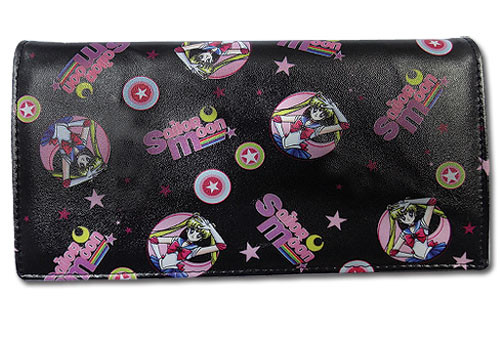 Sailor Moon -  Black Sailor Moon Snap Wallet