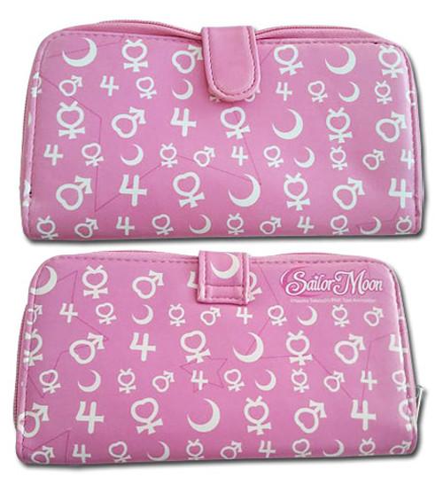 Sailor Moon Sailor Soldiers Symbols Zipper Wallet