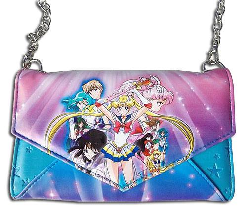 Sailor Moon Sailor Soldiers Envelope Wallet
