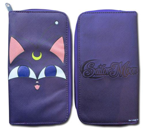 Sailor Moon Luna Smiling Zipper Wallet