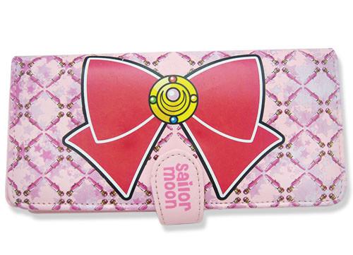 Sailor Moon Pink Sailor Moon Bow Hinge Wallet