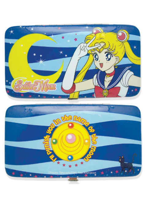 Sailor Moon Blue Sailor Moon  Hinge Wallet